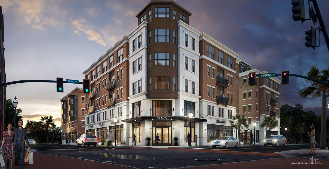 Spandrel Development: 595 King Street