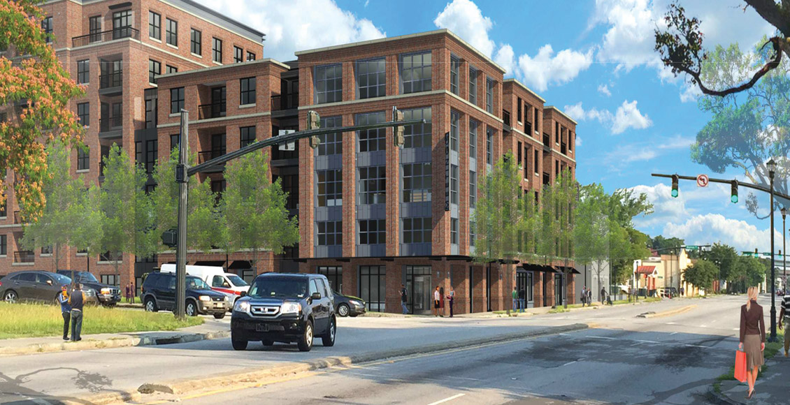 Spandrel Development: 511 Meeting Street Rendering