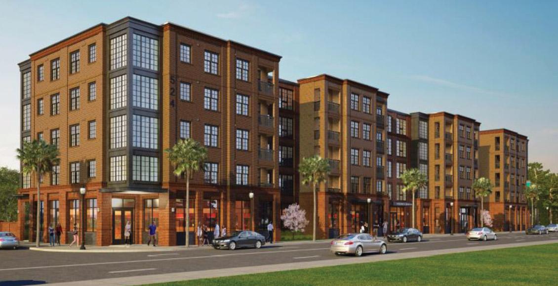 Spandrel Development: 530 Meeting Street Rendering