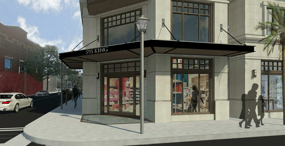 Spandrel Development: 595 King Street