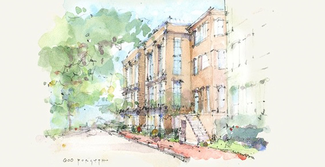Spandrel Development: 607 Drayton in Savannah, GA